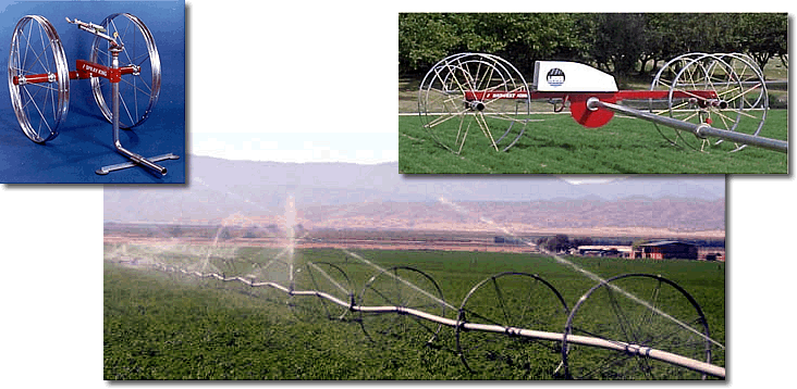 Lake Wheel Lines Irrigation Sales And Supplier In Texas
